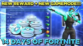 Day 2 Of 14 Days Of Fortnite *NEW* Gamemodes + Rewards + Giant Candy Canes Locations!!!