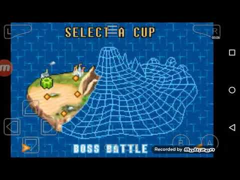 Digimon Racing GBA Gameplay Part 2: The First Boss Battle!!!!