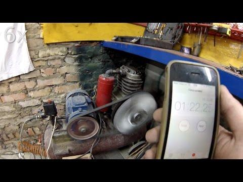 Компрессор СО7Б 500 литров в минуту, переделка на 220 вольт с автоматикой [PVS]