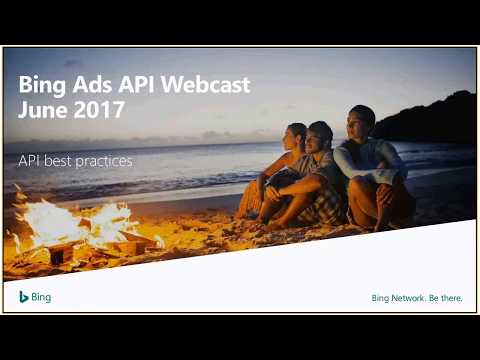 API Best Practices Webcast – June 2017