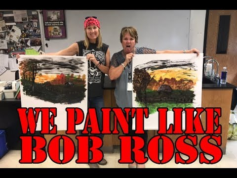 We Paint Like Bob Ross