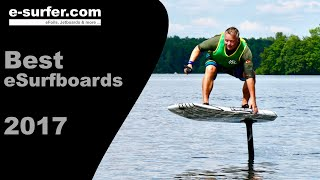 Best Electric Surfboards 2017