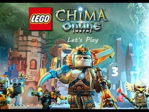 Let's Play Lego Chima Online- Ep 3- Building Weapons - YouTube