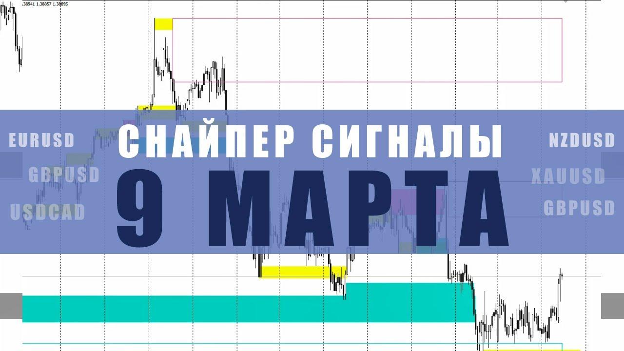 СИГНАЛЫ СНАЙПЕР НА 9 МАРТА  | Трейдер Юрий Антонов