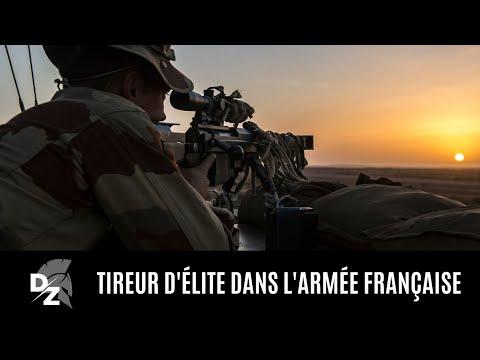 Tireur d'élite dans l'armée française