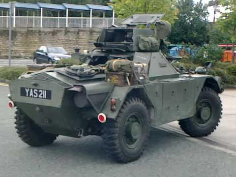 Ferret armoured tank