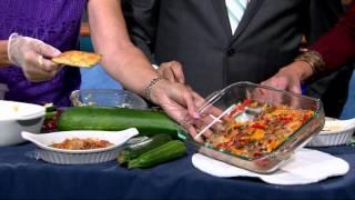 Donna's zucchini recipes: Zucchini boats, pizza squares, bread