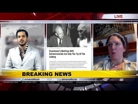 Zain Khan Live: Laura Eisenhower says Former US president Dwight D. Eisenhower met Aliens