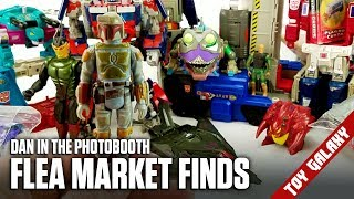 Flea Market Finds: Vintage Boba Fett and a Bunch of Transformers - Dan in the Photobooth #131