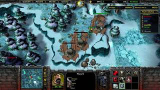 Warcraft 3: Farmer vs Hunter! Double Game - How have you not found me?? + Hunter Game
