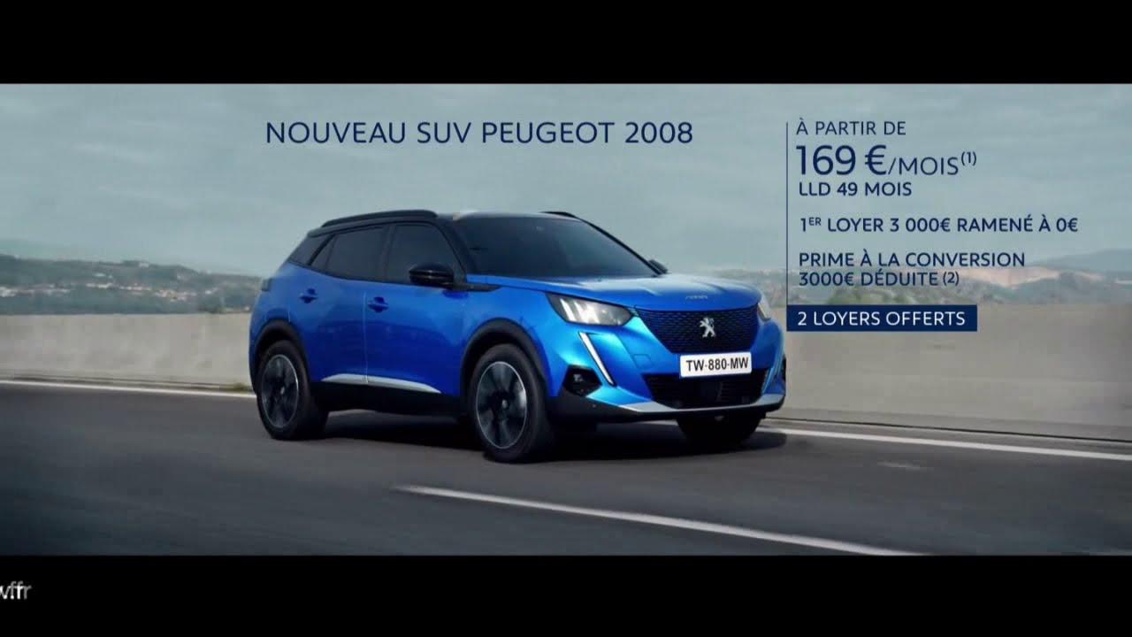 """Musique de la pub Nouveau SUV Peugeot 2008 """"prime à la conversion""""  2021"""