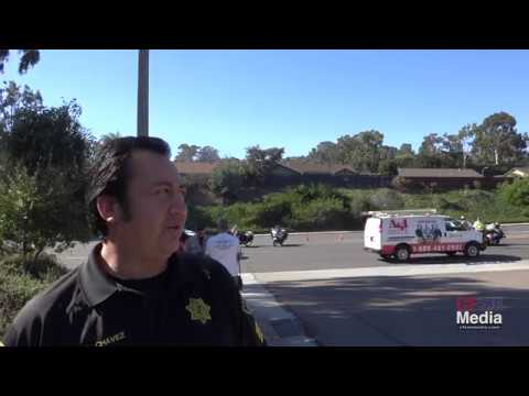 Car Accident in Encinitas with Sheriff