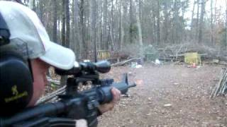 Ar 15 bushmaster 20 inch The dog...
