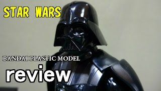 bandai star warsシリーズ レビュー plastic model