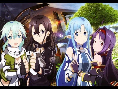 {AMV} Sword Art Online - Overfly English Version -