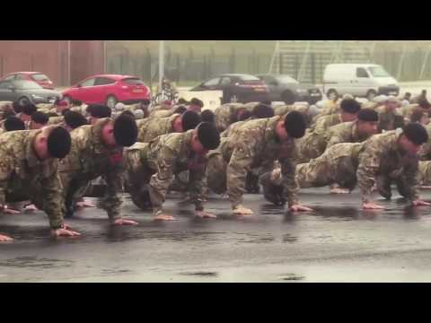 British Army do the 22 Push Up Challenge! CAN YOU!!?