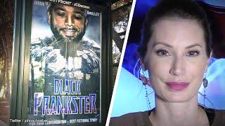 Sabo Strikes Again! L.A. Street Artist Mocks Jussie Smollett's Hate Crime Hoax | Amanda Head