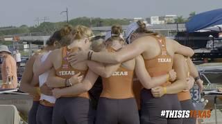 Texas Rowing starts strong at the 2018 NCAA Championships
