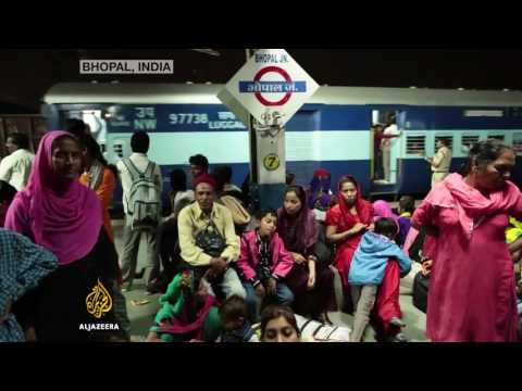 ALJAZEERA on India's bhopal gas tragedy victims.