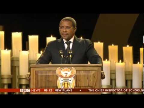Nelson Mandela State Funeral Tribute by President Jakaya Kikwete Tanzania