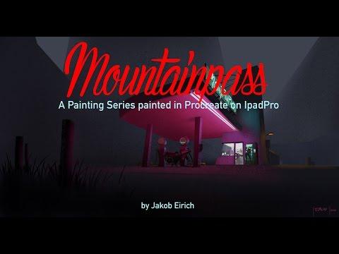 Mountainpass #2  - Timelapse video