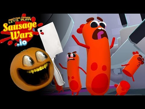 Sausage Wars!!!! | Annoying Orange Gaming
