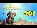 Let's play Heroes Chronicles [01] A Barbarian King 1