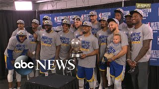 Warriors headed to 5th consecutive NBA finals