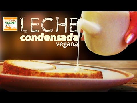 Leche condensada vegana - Cocina Vegan Fácil