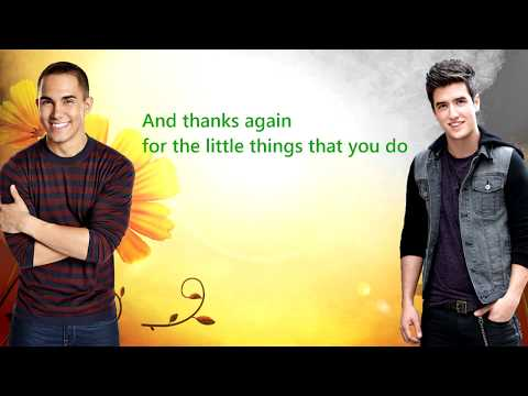 Big Time Rush Mom Song Lyrics