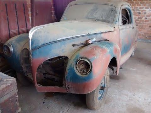 Colecao Esquecida De Carros Antigos 8 Lincoln Zephyr 1941 V12 Youtube