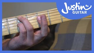 i vi ii v jazz guitar chords variation exercise - how to play jazz guitar
