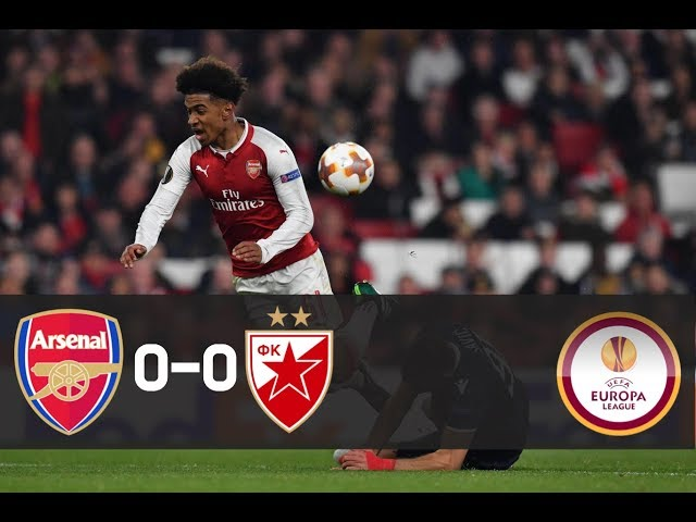 Arsenal vs Red Star Belgrade (0-0) - All Goals & Highlights 2/11/2017