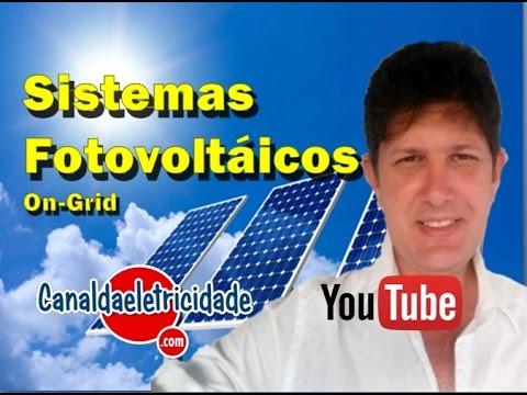 ENERGIA SOLAR ON-GRID (CONECTADO À REDE)
