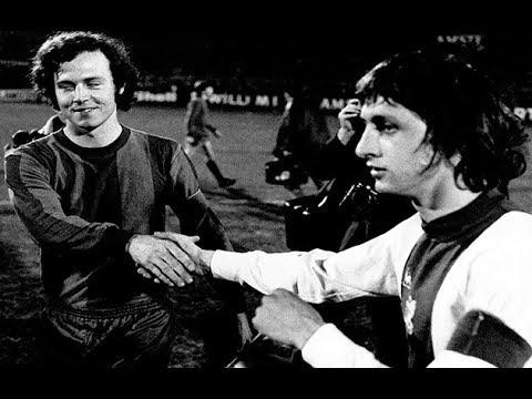 Johan Cruijff VS Franz Beckenbauer 1973 (Ajax x Bayern Munchen)