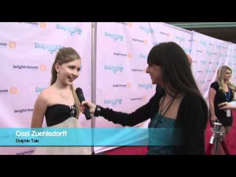 Wzra Tv: Dolphin Tale Red Carpet Interview with Cozi Zuehlsdorff