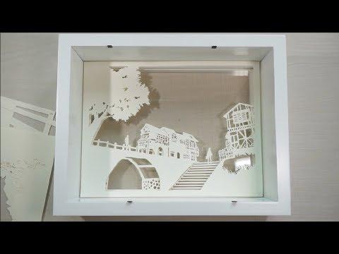 [DIY] 페이퍼커팅 무드등 : 외나무다리