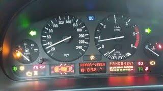 тест стрелок BMW E39