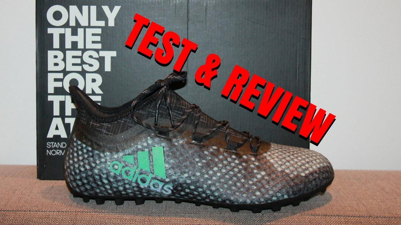 a0f792d2074 ADIDAS X 16.1 CAGE - Football Shoes Review - Best for Tekkers  AZUN  Freestyle football
