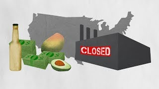 NAFTA explained by avocados. And shoes.