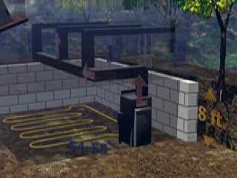 Geothermal house design 1 youtube for Geothermal house plans