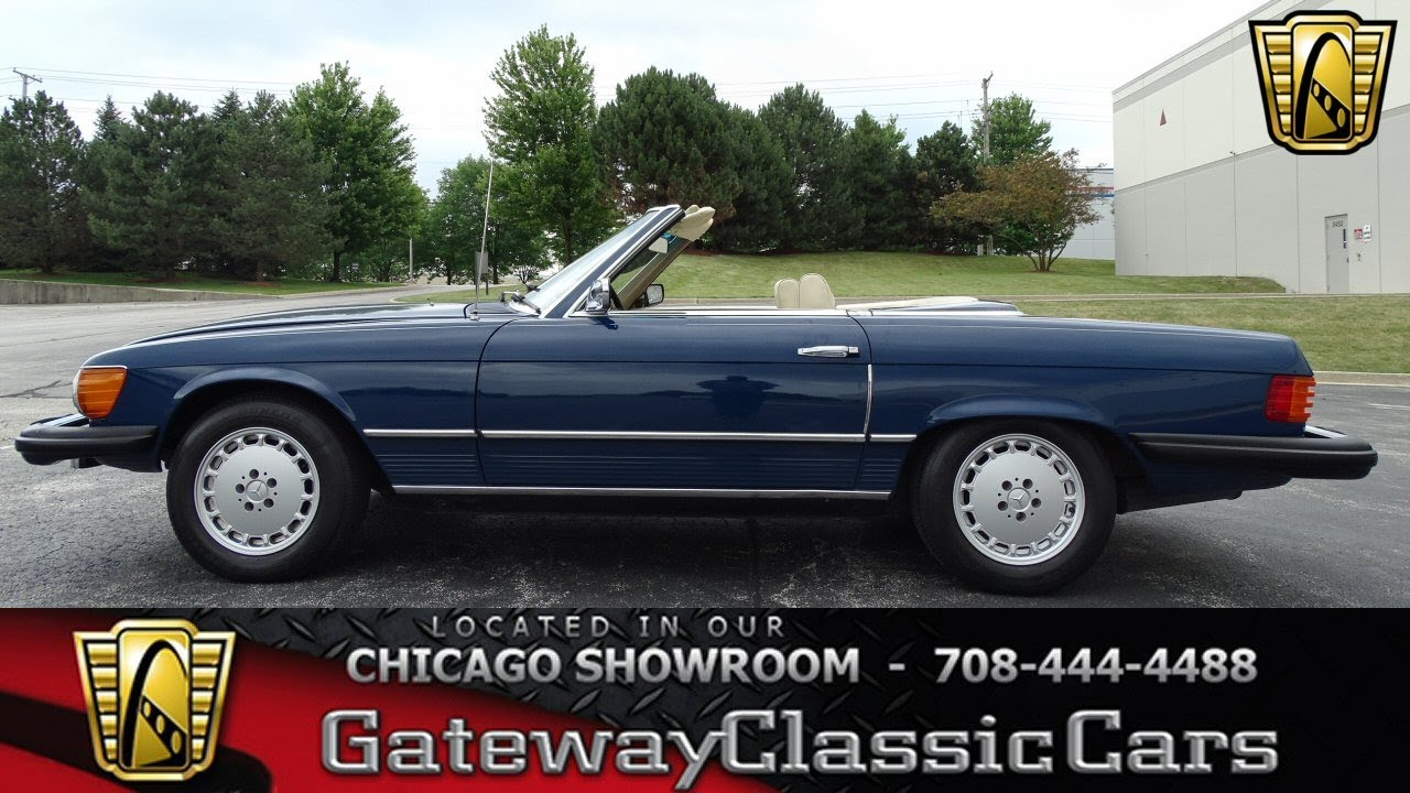 maxresdefault 1974 mercedes benz 450sl gateway classic cars chicago 1228 youtube 1978 Mercedes 450SEL at virtualis.co