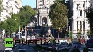 Spain: Madrid drowns in garbage as street cleaners strike