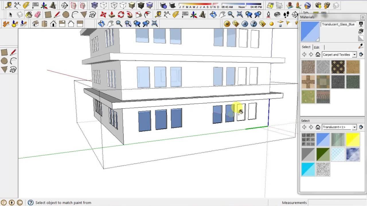 Cara Mudah Membuat Gedung Bertingkat Menggunakan Sketchup8 Youtube
