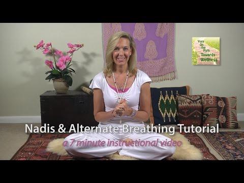 Yoga Nadi and Alternate Breathing Yoga Instruction Tutorial