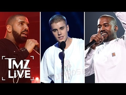 Kanye, Bieber and Drake Bail On The Grammy's | TMZ Live