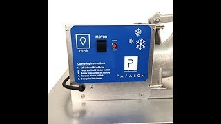 Paragon Port-A-Blast Sno Cone Machine for Professional Concessionaires Requiring Commercial Heavy