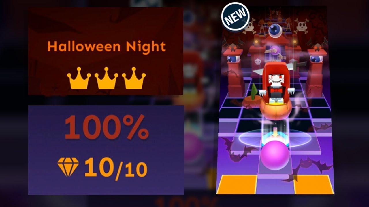 Rolling Sky Halloween Night.Rolling Sky Halloween Night