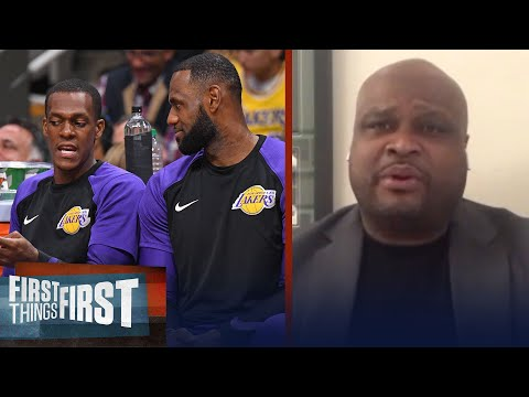 Rondo's injury won't impact the Lakers' title chances — Antoine Walker | NBA | FIRST THINGS FIRST