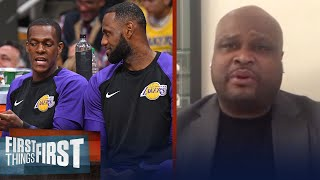 Rondo's injury won't impact the Lakers' title chances — Antoine Walker   NBA   FIRST THINGS FIRST